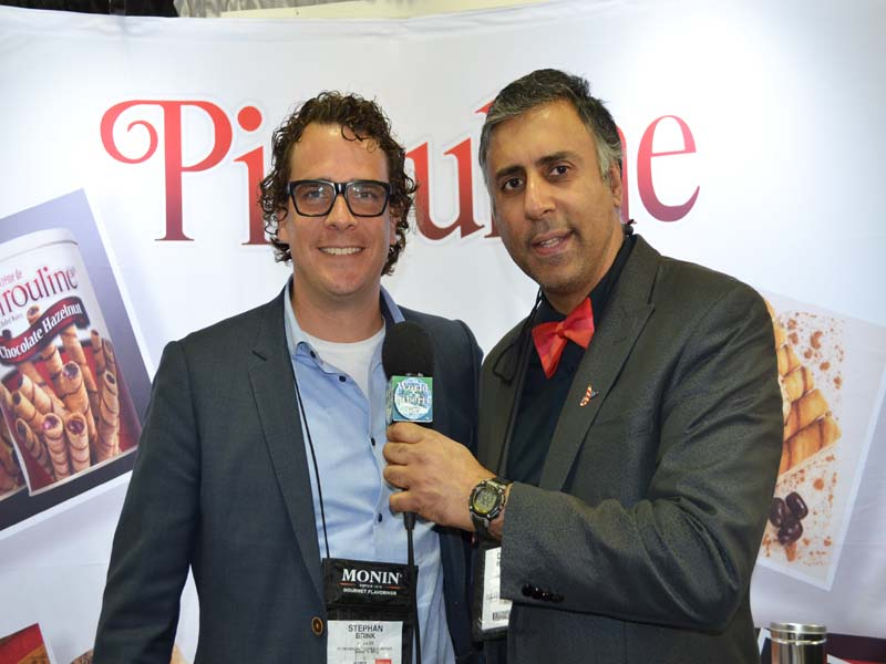 Dr.Abbey with Stephen Brink of De Beukelaer Cookie Co