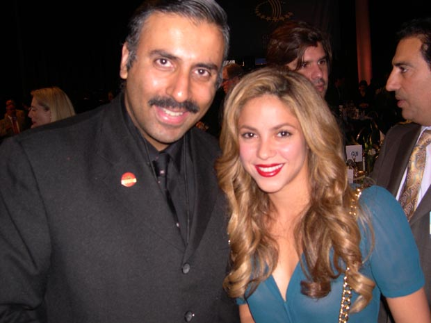Dr.Abbey with Superstar Singer Shakira