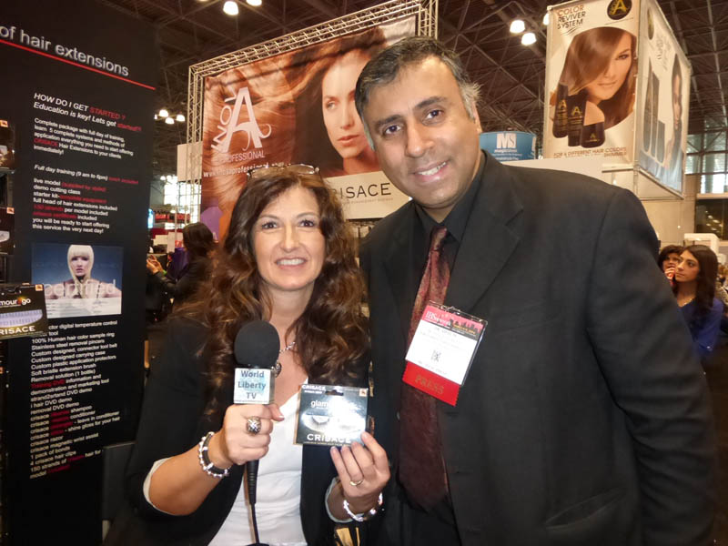 Dr.Abbey with Susan Romauldi of Crisace