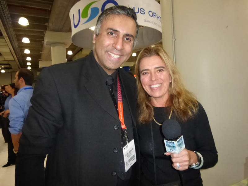 Dr.Abbey with Suzanne Paulson of Eyeeco