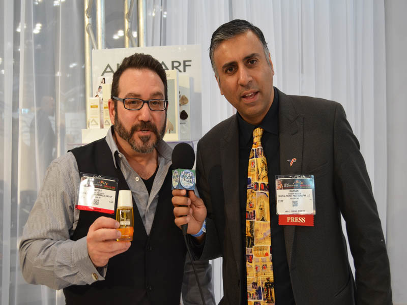 Dr.Abbey with Vincent Constanzo of ALFA Parf Group