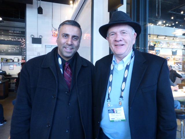 Dr.Abbey with Wayne Brandt president Brandt Co