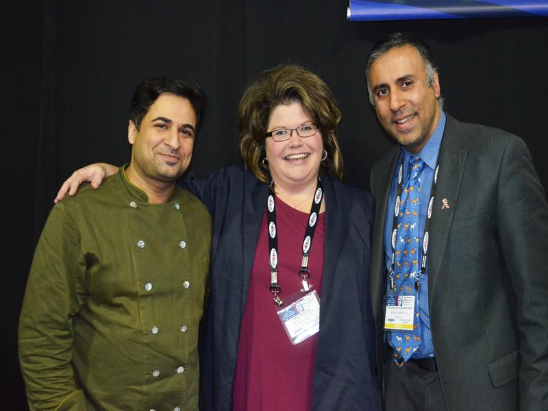 L-R Chef Saran Amy Myrdal Miller of FDC & Dr.Abbey