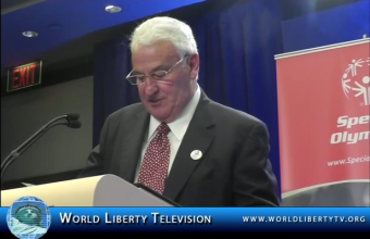 Special Olympics Donation of 12 Million Dollars by Billionaire Tom Golisano at The CGI 2012