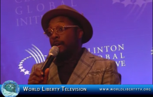 Will.i.am, Founder i.am angel Foundation, at the CGI 2012