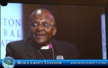 Bishop Desmond Tutu, Nobel Peace Prize Winner Speaking on Early Child Marriage Issues