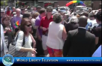 Queens LGBT Parade in Jackson Heights, Queens NY – 2013