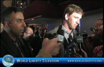 Interview with  Eli Manning, Two-Time Super Bowl Champion with The New York Giants – 2012