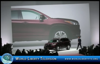 2014 Toyota Highlander Greets the World with NYC debut at The NY Auto Show 2013