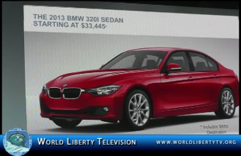 BMW 320i Sedan World Premiere Debut at the NYIAS 2013