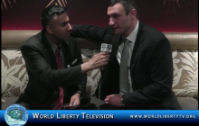 Interview with Vitali Klitschko, WBC World Heavyweight Boxing Champion at the BWAA Awards Gala 2012