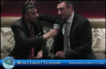 Interview with Vitali Klitschko, WBC World Heavyweight Boxing Champion at the BWAA Awards Gala 2012