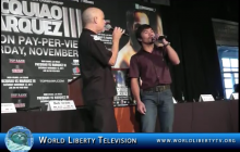 "Live Duet Performance by Dan Hill & Manny Pacquiao of the Classic Hit ""When We Touch"" – 2011"