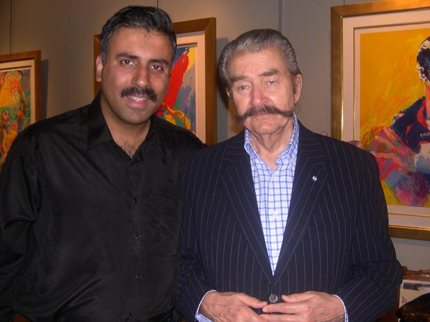 Dr.Abbey with Artist  Leroy Neiman