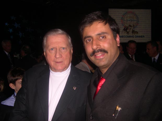 Dr.Abbey with  George Steinbrenner