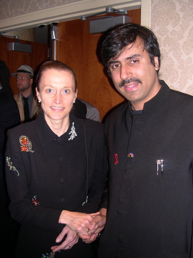 Dr.Abbey with Grete Waitz Marathon Great