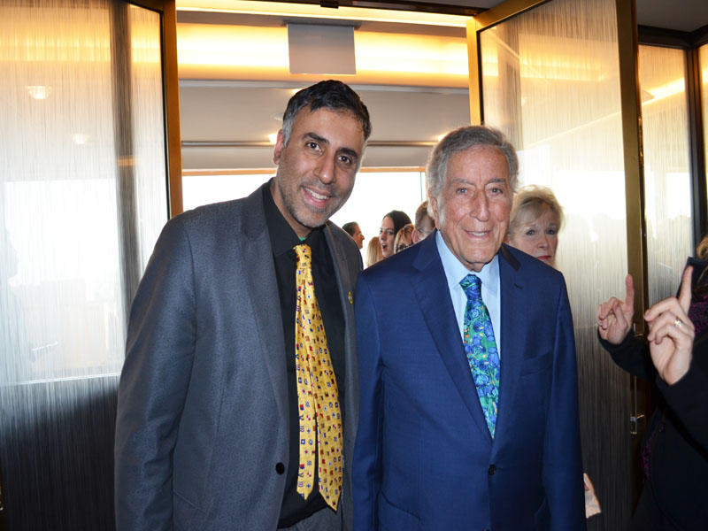Dr.Abbey with Legendary Tony Bennett