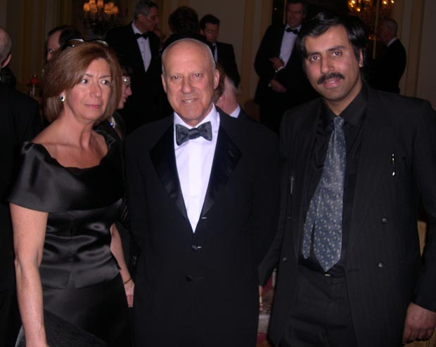 Dr.Abbey with Lord Norman Foster World Renowned Architect and guest