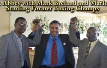 "Marlon ""Magic Man"" Starling 2 time World Welterweight Boxing Champion, 2013"