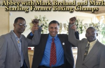 "Marlon ""Magic Man"" Starling 2 time World Welterweight Boxing Champion, 2013"