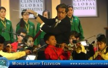Live performance by Esperanza Azteca National Youth Orchestra at CGI 2013