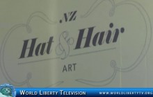 New Zealand Hat and Hair Art Show From New Zealand, 2013