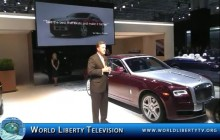 Debut of Rolls Royce Ghost II at the NY International Auto Show-2014