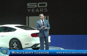 Ford Press Conference for Focus and 50 years of Ford Mustang -2014