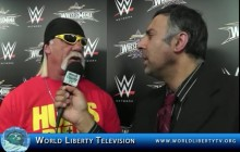 Interview with Hulk Hogan host of WrestleMania 30 ,to be held at Mercedes –Benz Superdome New Orleans-2014