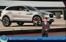 Debut of Jaguar and Landrover at the New York  International Auto Show -2014