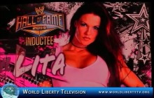 Lita professional wrestler and WWE Diva, to be inducted  WWE Hall of Fame at WrestleMania 30 in New Orleans- 2014