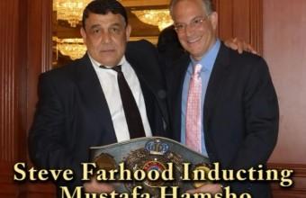 Mustafa Hamsho, former World Middlewight Boxing Contender -2014