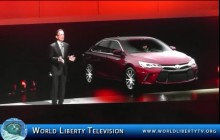 2015 Debut of Toyota Camry at NY International Auto Show -2014