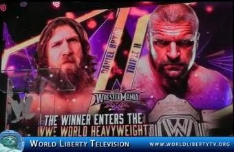 Triple H vs. Daniel Bryan, at WrestleMania 30 in New Orleans-2014