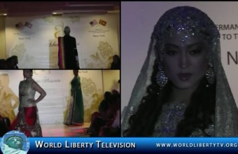 Aslam Hussein, CEO of Geebees Designer Studios, makes his 2014 historical debut in the USA