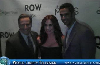 Laura Posada's Clap for a change event at The Row NYC-2014