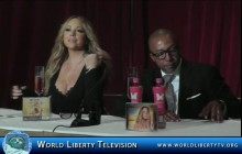 Mariah Carey's New Flavored Drink Butterfly in partnership with  Go N'Syde -2014