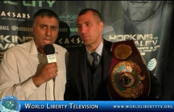 Exclusive interview with Sergey Kovalev ,World Light heavyweight Boxing Champion-2014
