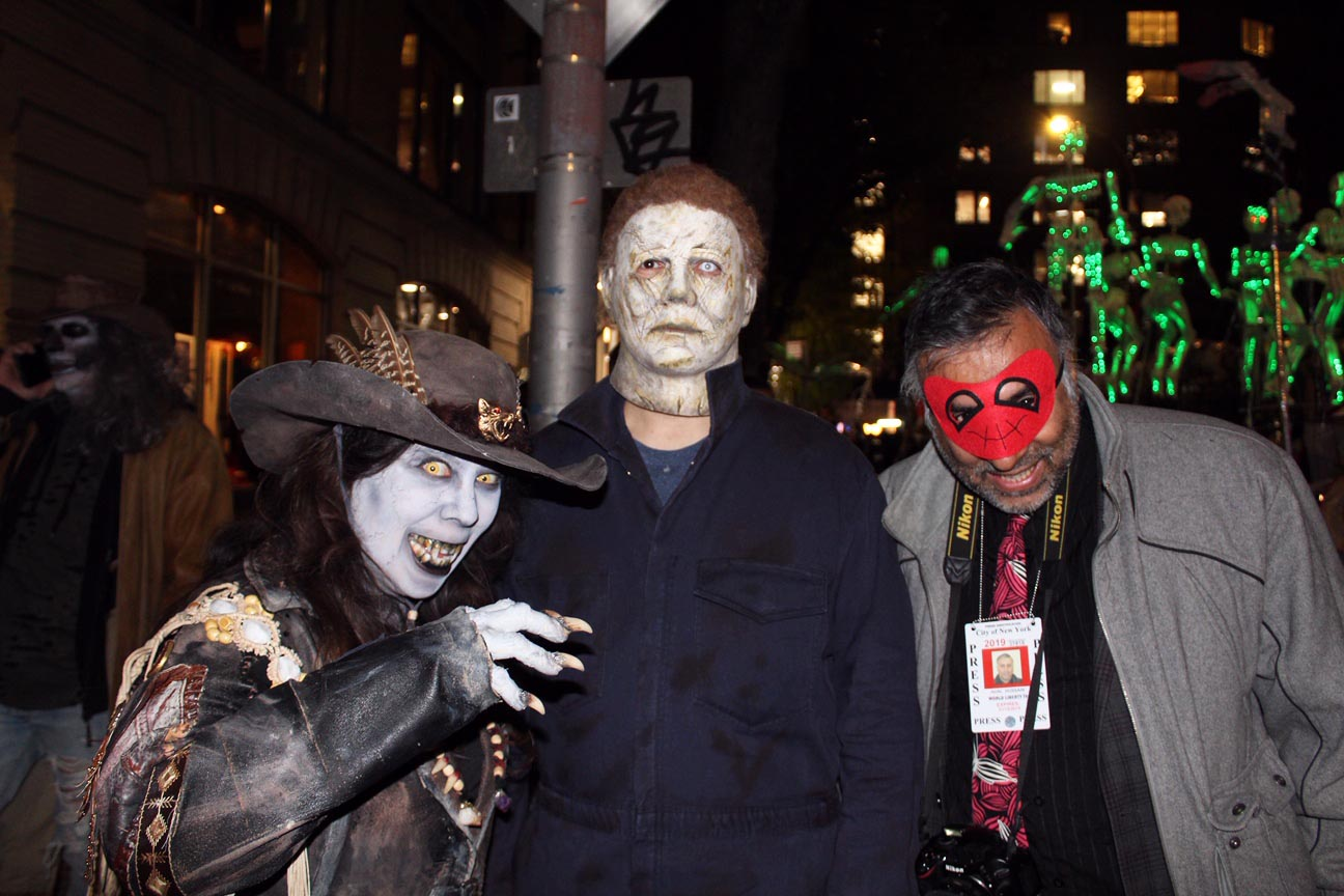 Dr.Abbey With Michael Myers