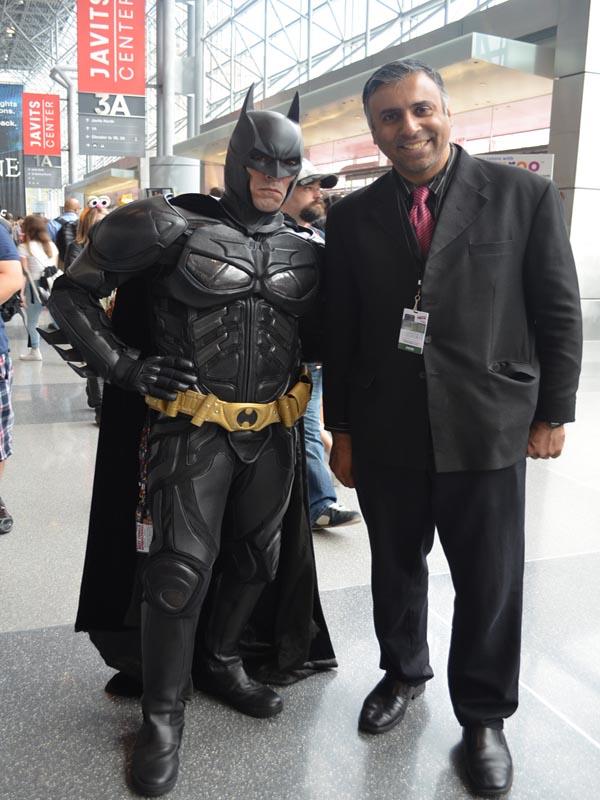 Dr.Abbey with Batman 3