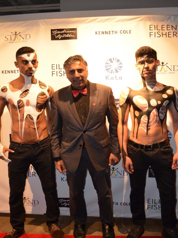 Dr.Abbey with Body Painted Models