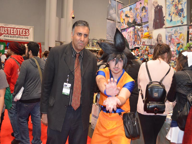 Dr.Abbey with Goku