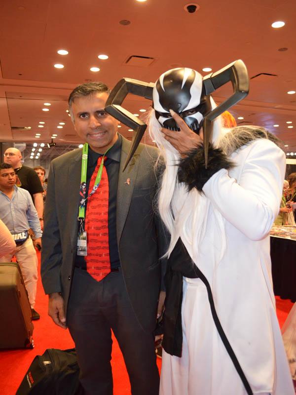 Dr.Abbey with Ichigo Bleach