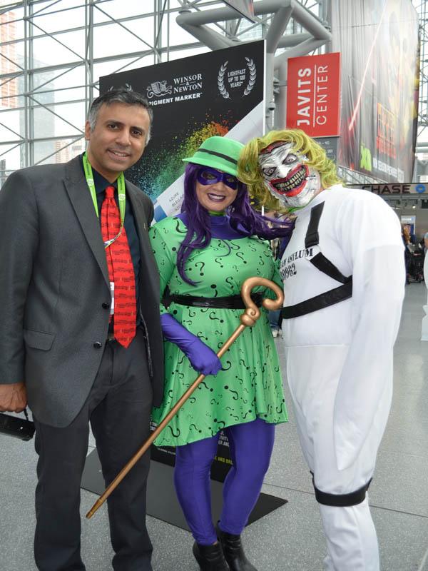 Dr.Abbey with Joker & Riddler