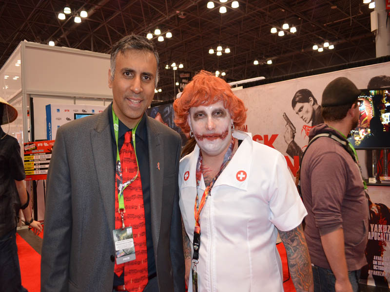Dr.Abbey with Nurse Joker