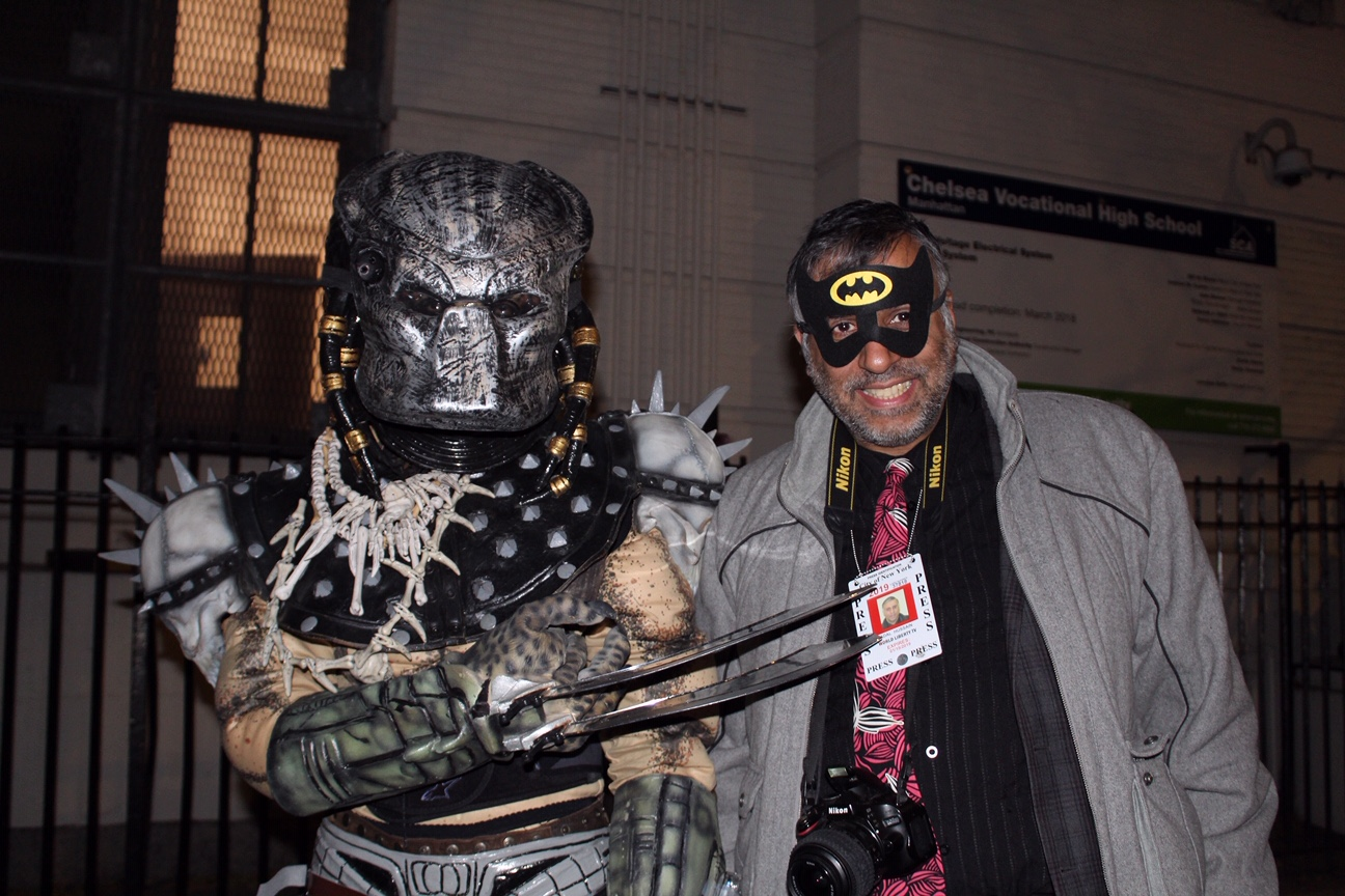Dr.Abbey with Predator