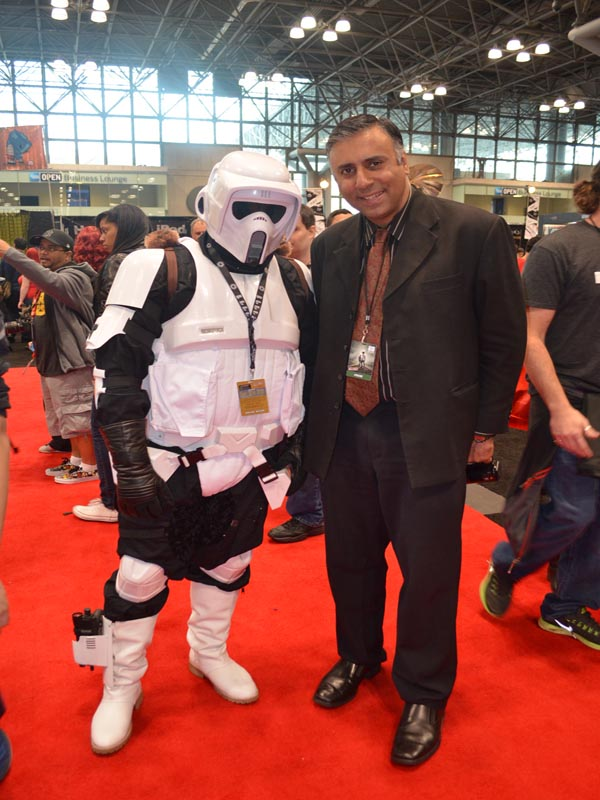 Dr.Abbey with Star Wars Character