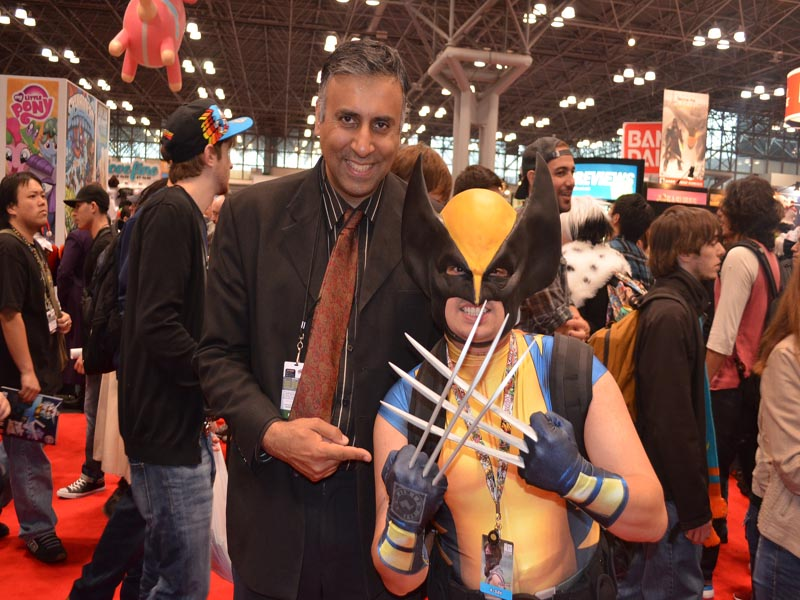 Dr.Abbey with Wolverine