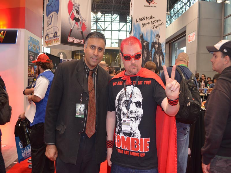 Dr.Abbey with Zombie