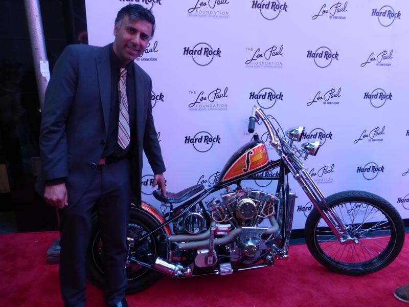 Les Paul 100th Anniversary Harley Davidson Bike